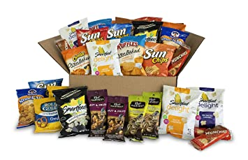 Image result for Send & Share Variety Snack Box, Assortment of Baked, Popped and Nut Snacks