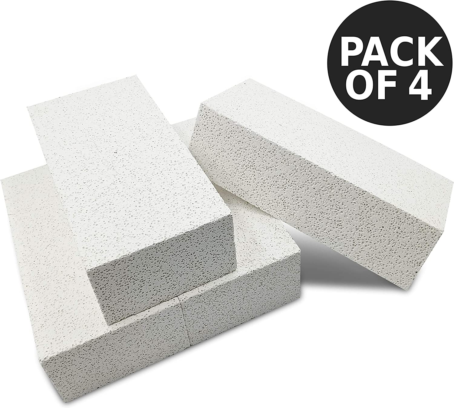 Metal Clay 2700f Fireplace Bricks Pack Of 4 Jewelry Soldering 9x 4 5 X 2 5 Insulating Fire
