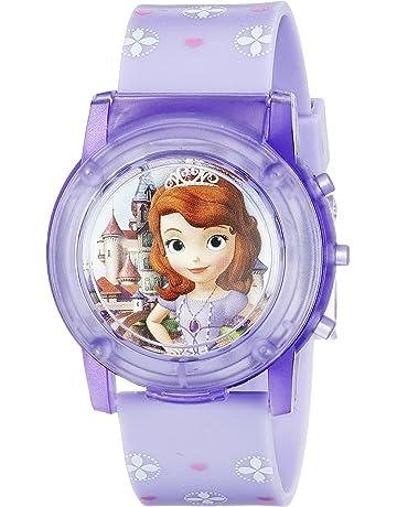 4e3e4617d Disney Sofia the First Kids' SOF1561SR Digital Display Analog Quartz Purple  Watch