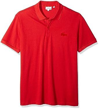 dc25a18e Lacoste Men's Short Sleeve Reg Fit Velvet Croc Polo at Amazon Men's  Clothing store: