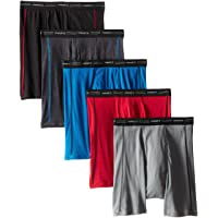 Men's 5-Pack Sports-Inspired Cool Dri Boxer Brief