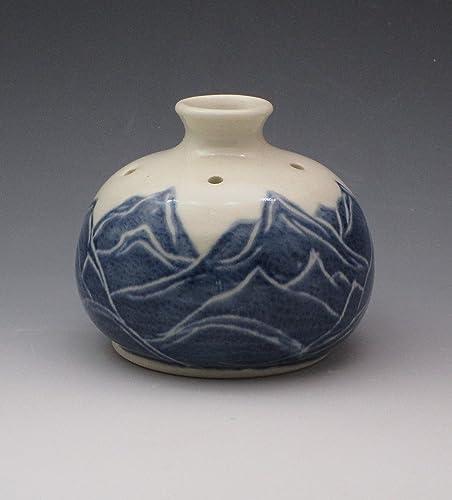 Amazon Porcelain Bud Vase Pansy Pot Essential Oil Reed
