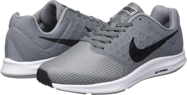 Nike Downshifter 7, Zapatillas de Running para Hombre, Gris (Stealth/black-cool Grey-white), 44.5 EU: Amazon.es: Zapatos y complementos
