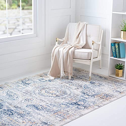 Editors' Choice: Rugs.com Budapest Collection Area Rug 9' x 12' Gray Low-Pile Rug Perfect