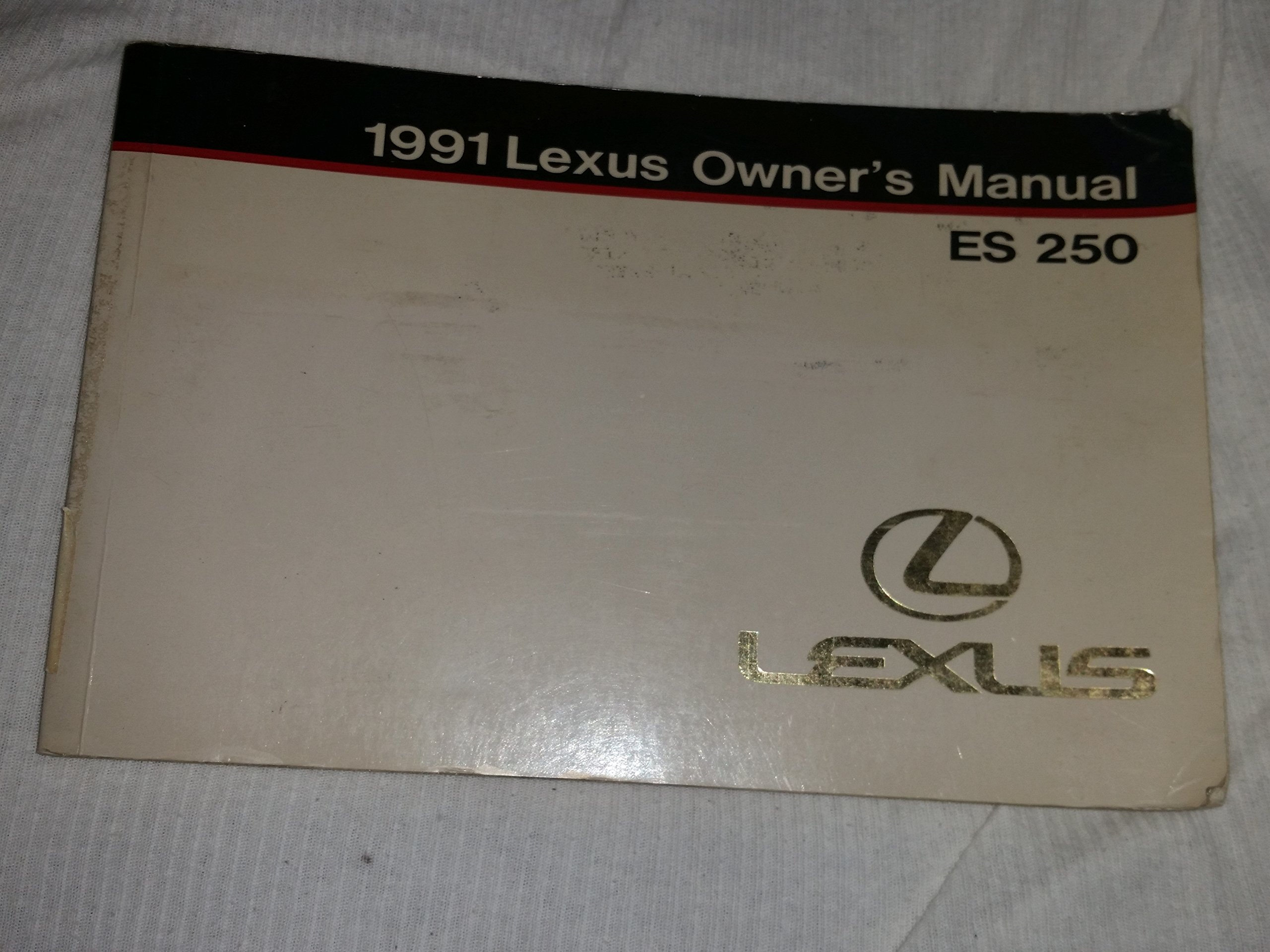1991 Lexus Owner's Manual ES 250: Toyota Motor Corporation