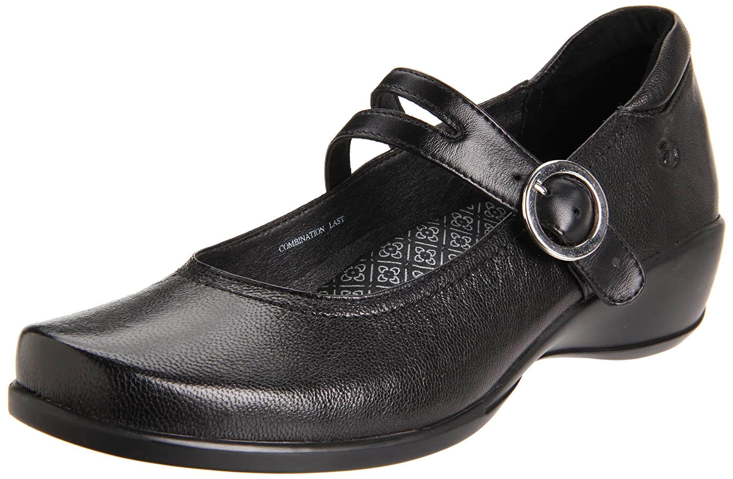 Aravon Women's Tonya Mary Jane B004GTR4VY 6 2A US|Black