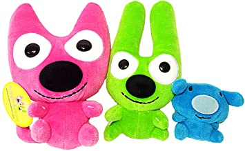 Buy Hoops And Yoyo Piddles Hallmark Trio Soft Plush Stuffed Animal Toys For Kids By Kingdom Creations Online At Low Prices In India