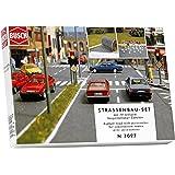 Busch Environnement - BUE7097 - Modélisme Ferroviaire - Assortiment Route & Accessoires - Echelle N