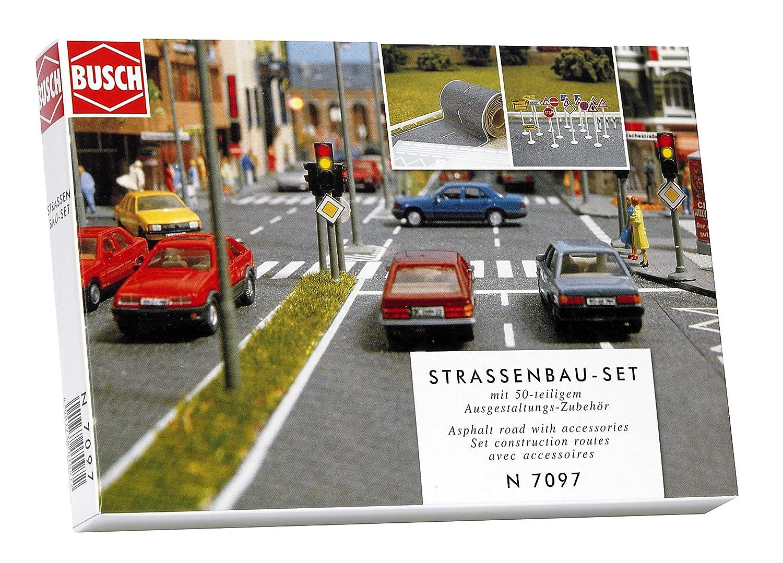Busch N - Set costruzione strada 7097