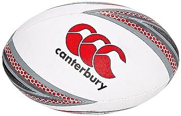 Canterbury Mentre - Balón de Rugby, Color Rojo - Flag Red/Black ...