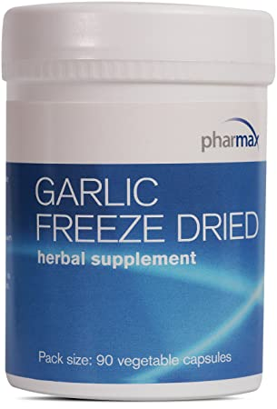 Pharmax – Garlic Freeze Dried – Supports Upper Respiratory Tract and Cardiovascular Health* – 90 Capsules