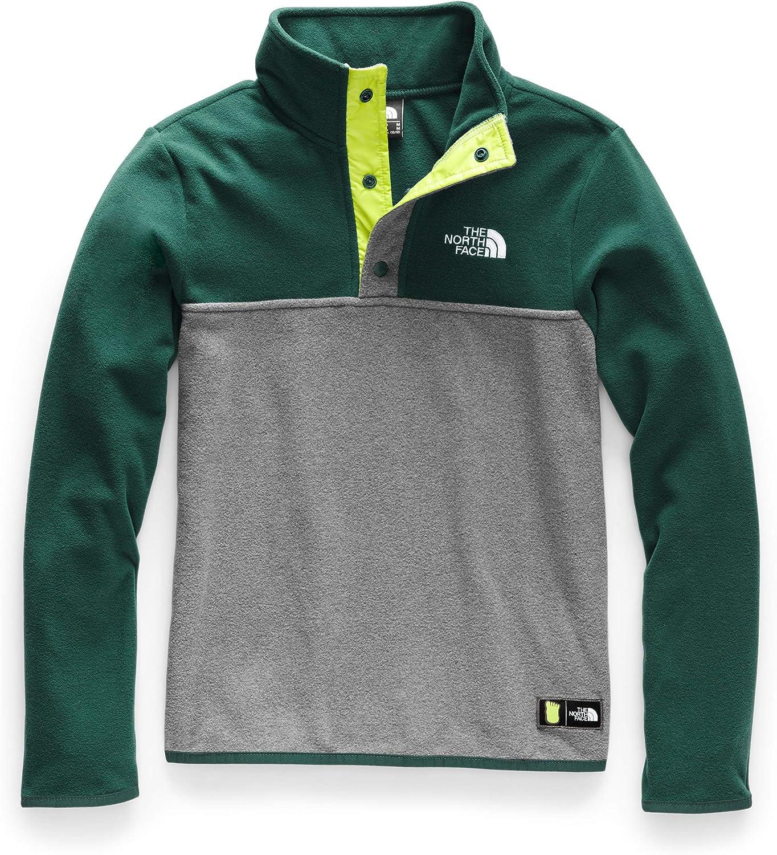 The North Face Boys/' Glacier Quarter Snap Sweatshirt