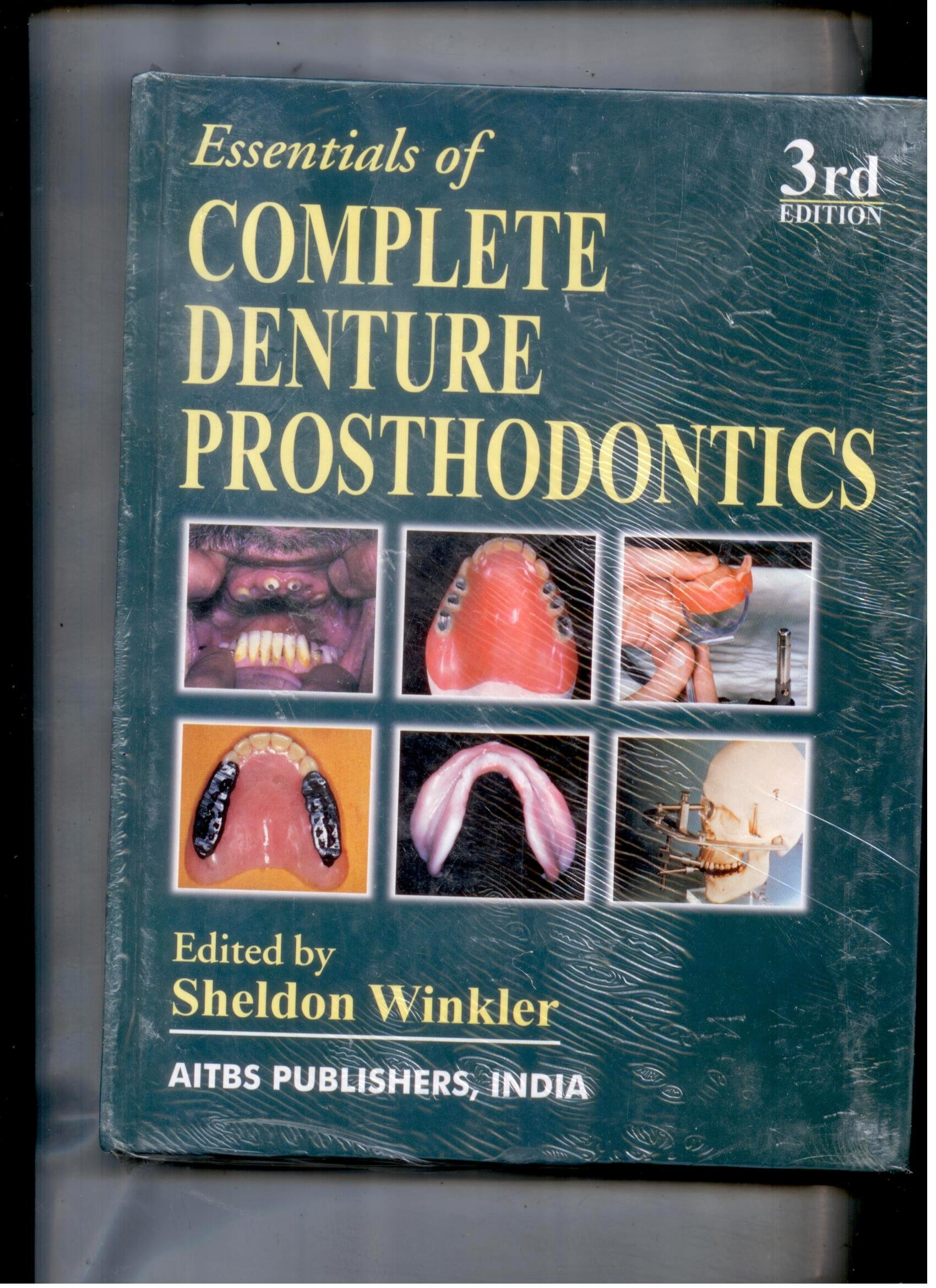 Essentials of complete denture prosthodontics 3ed winkler essentials of complete denture prosthodontics 3ed winkler 9789374735527 amazon books fandeluxe Gallery
