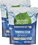 Seventh Generation Fragrance Free Dishwasher Detergent Pack, 45 Count, 2 Pack