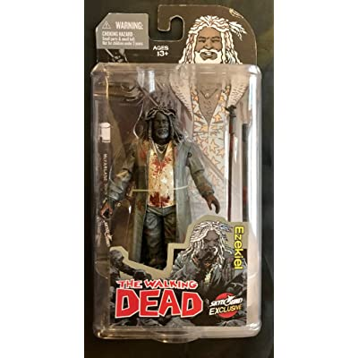 McFarlane Toys The Walking Dead Comic Book Ezekiel Action Figure [Bloody: Toys & Games