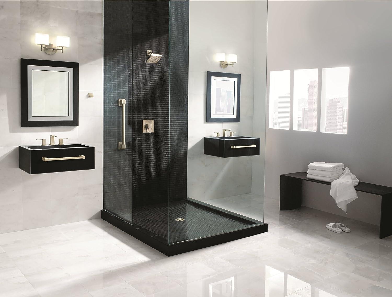 Moen YB8824CH 90 Degree 24-Inch Bathroom Towel Bar, Chrome ...
