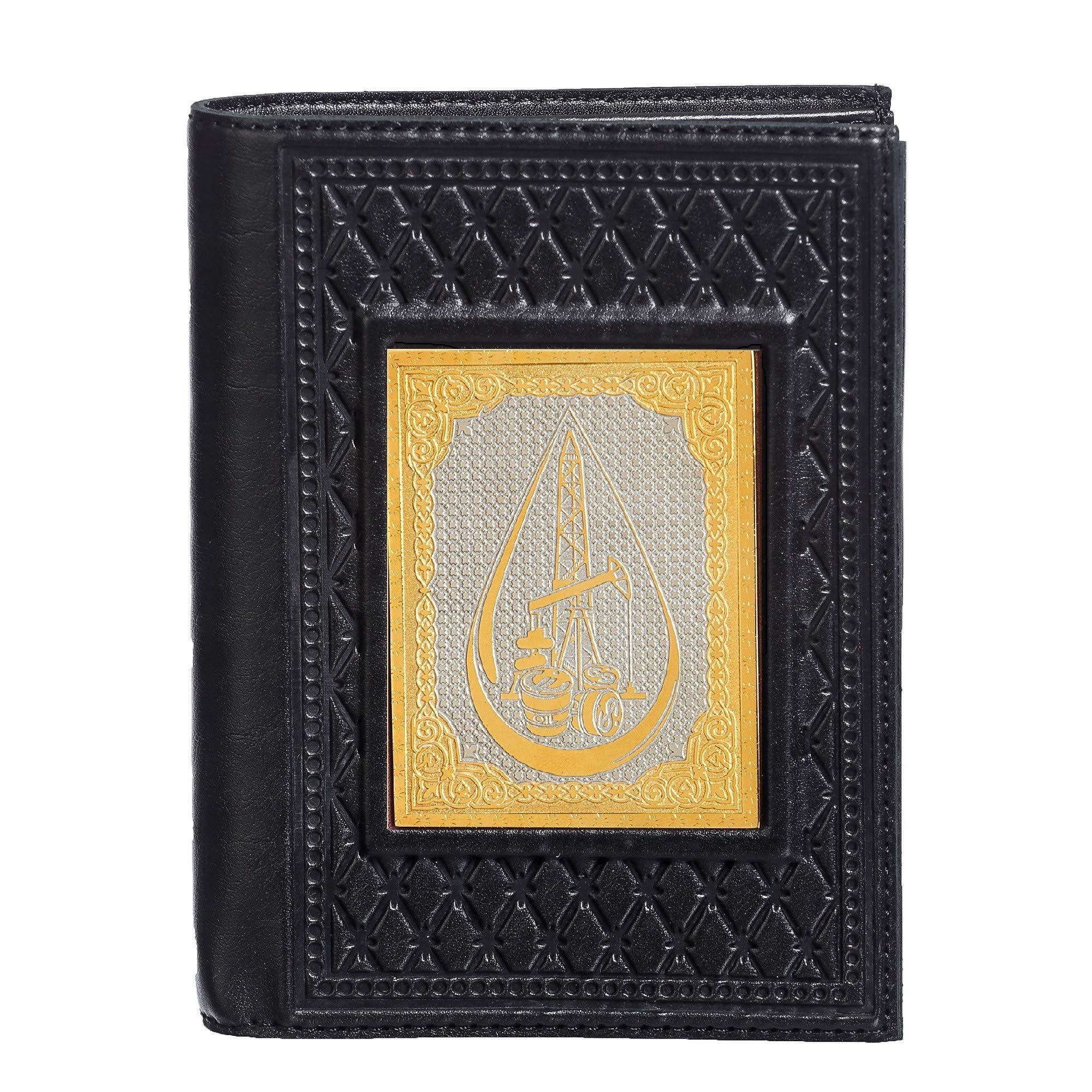 Passport Organizer Wallet Handmade Leather''Gas Oil Producer'' 2