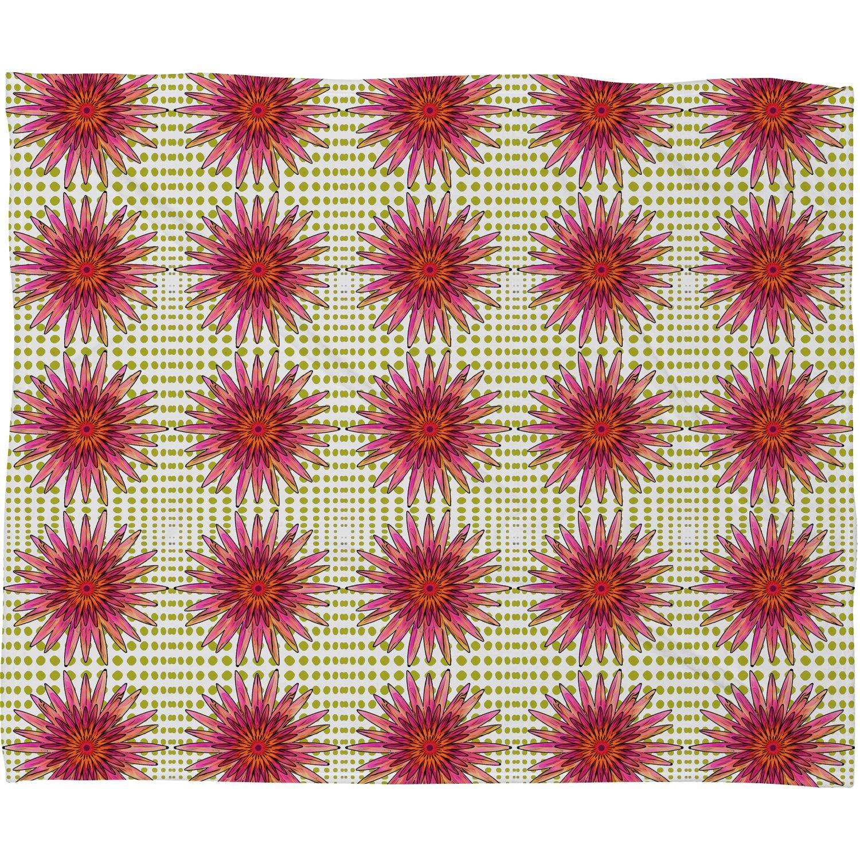 Deny Designs Ingrid Padilla Pretty Pinkies Fleece Throw Blanket, 50 x 60