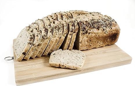 Pan ecológico artesanal con masa madre en horno de leña. Sabor tradicional exquisito. Envío GRATIS 24h. (Pan Blanco de trigo con semillas 750gr aprox.): Amazon.es: Alimentación y bebidas
