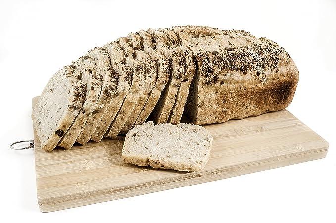 Pan ecológico artesanal con masa madre en horno de leña. Sabor tradicional exquisito. Envío