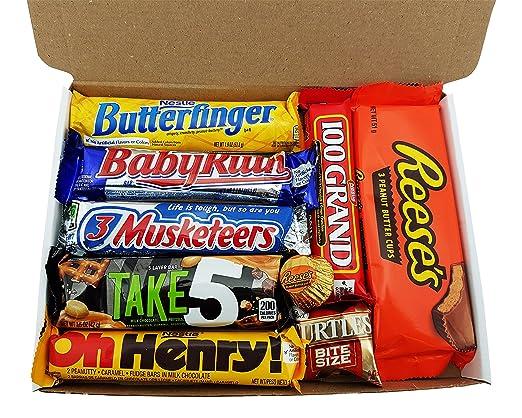 9 opinioni per Confezione Piccola di Snack Americani | Cioccolato per Idea Regalo di Natale e