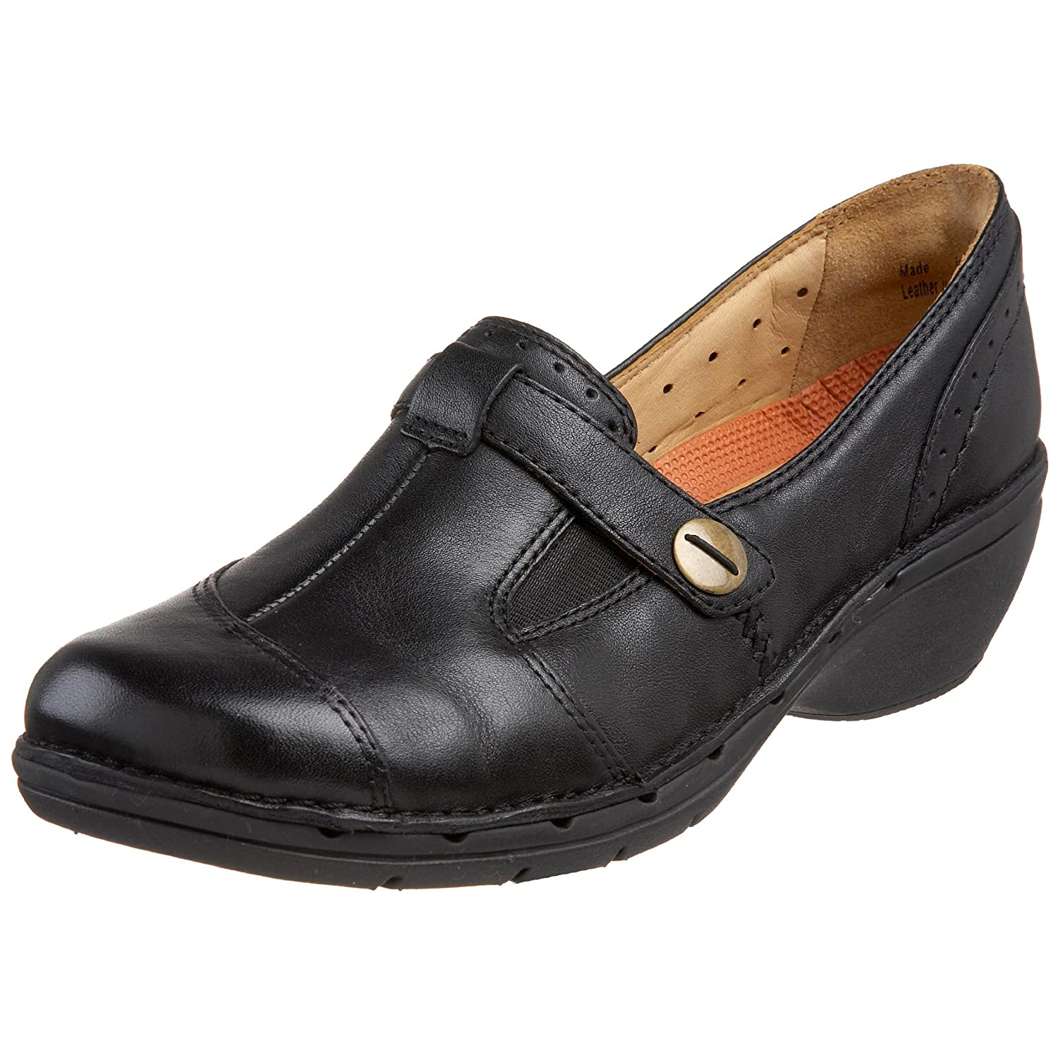 Amazon.com | CLARKS Unstructured Women's Un.Jump Loafer, Black, 9.5 N US |  Loafers & Slip-Ons