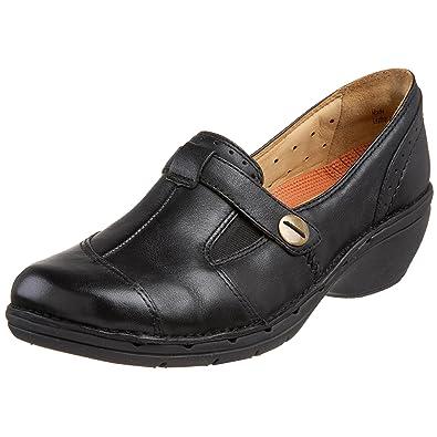 CLARKS Unstructured Womens Un.Jump Loafer,Black,9.5 ...