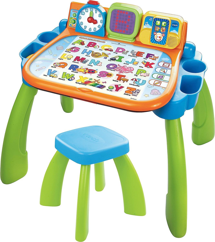 Regalo di Natale Giocattolo Kids Vtech INTERACTIVE LED 4 in 1 Touch /& Imparare Attività Scrivania 3