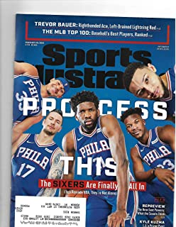 Sports Illustrated Magazine (February 25, 2019) Process The Sixers