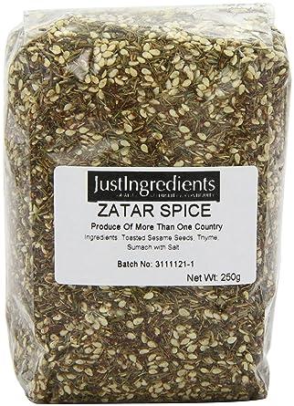 JustIngredients Essentials Zatar Spice Blend 250 G Pack Of 2