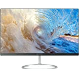 HKC Micromax MM238HHDM1HA LED Full HD, PLS, 24 Inch Ultra Slim (1.8mm Frame, 6.5mm Deep) Widescreen Display (1920x1080, 4mS, HDMI, VGA Connectors) - Black, Metal Stand