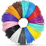 3D Pen Filament Refills - 14 vibrant colors including 4 glow-in-the-dark and FREE Stencils eBook - 1.75mm ABS filament - 280 Linear Feet Must have for anyone who owns a 3D printer pen!