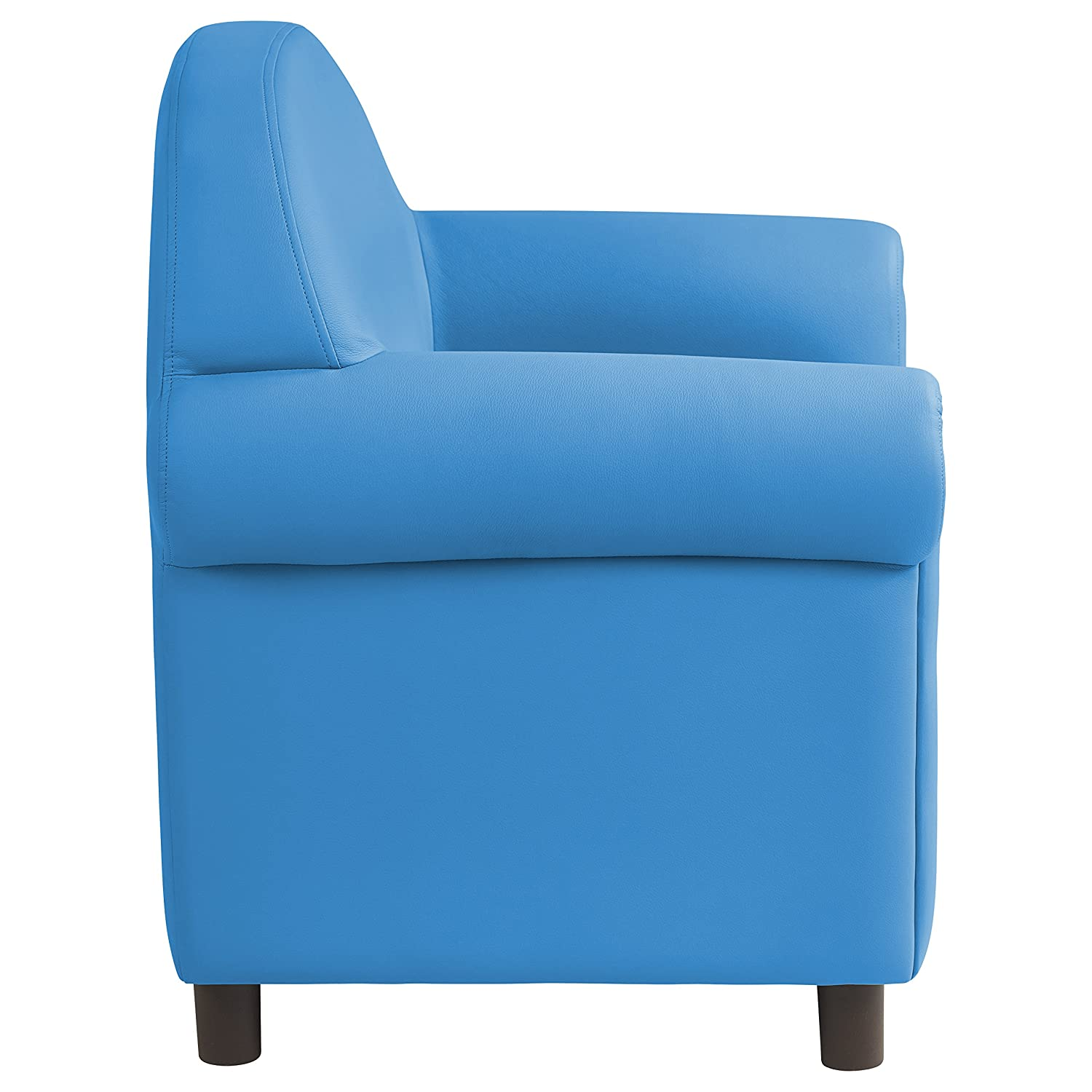 Remarkable Ecr4Kids Softzone Little Lux Upholstered Youth Chair For Kids Room French Blue Creativecarmelina Interior Chair Design Creativecarmelinacom