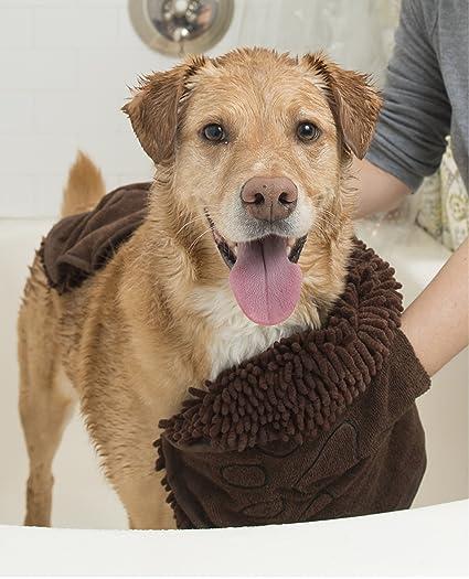 Amazoncom Dog Gone Smart Dirty Dog Shammy Brown Dgsshammy03