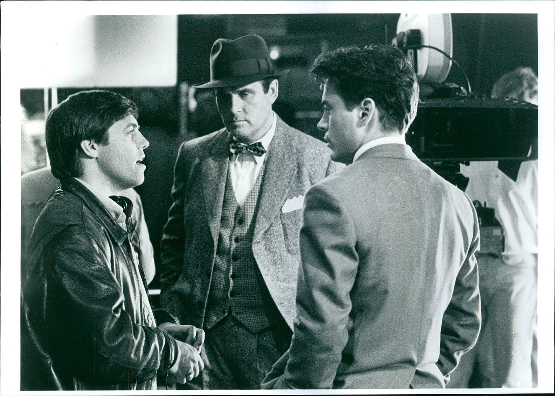 Vintage foto de Ron Underwood, Charles Grodin y Robert Downey ...