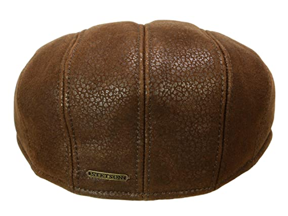 Stetson Madison Lamb Fur Inside Cap Men | Made in Germany at Amazon Mens Clothing store:
