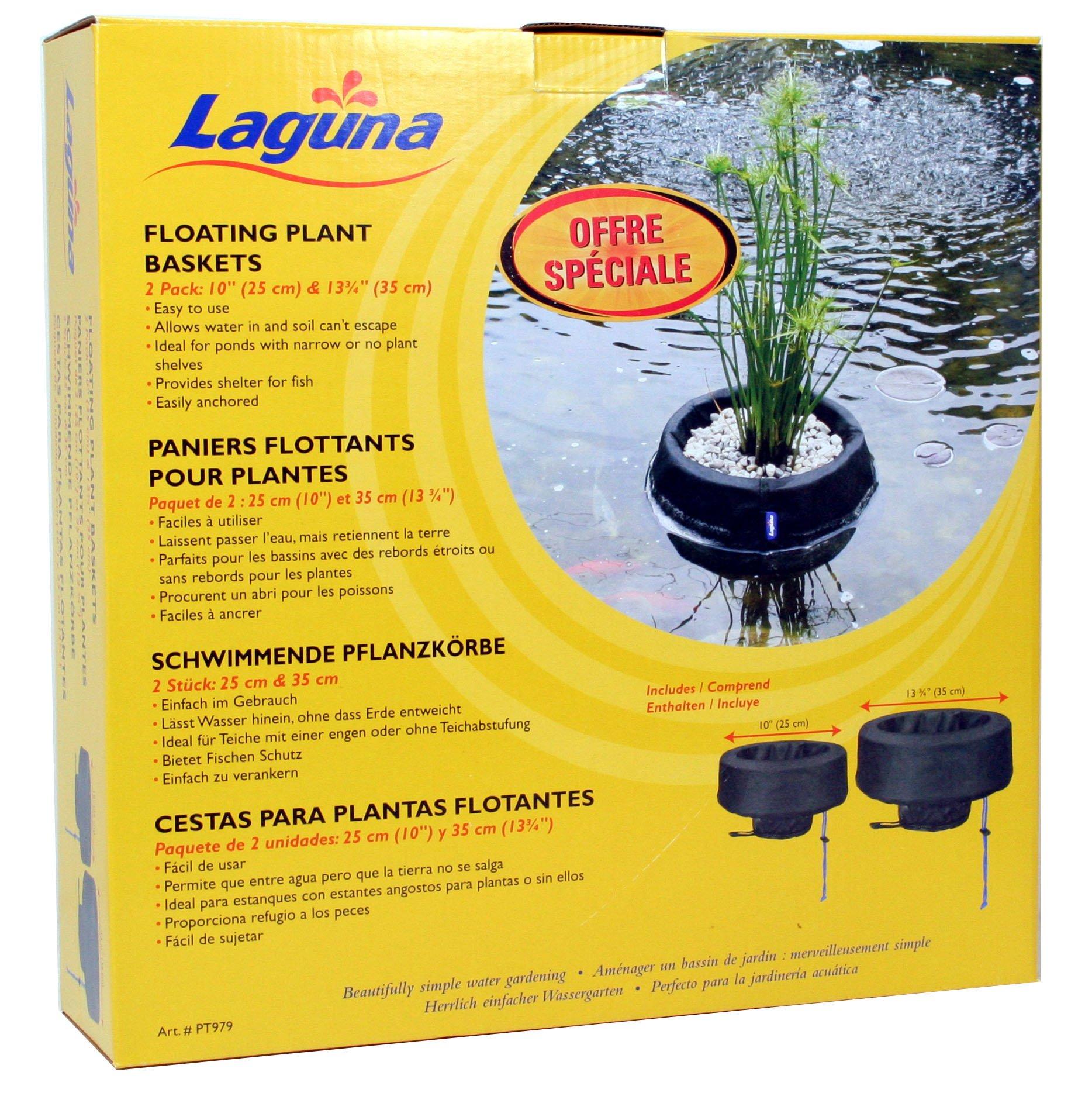 Laguna Woven Fabric Floating Plant Basket Kit