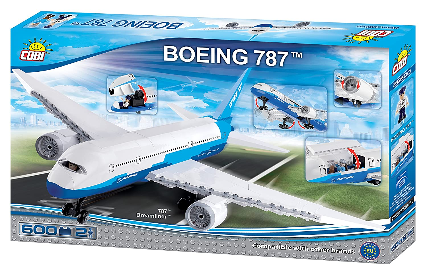 COBI 26600 Boeing 787 Dreamliner: Amazon co uk: Toys & Games