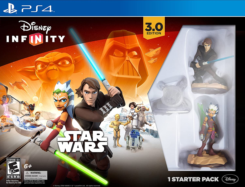 Disney Infinity:Star Wars Starter Pack - 3.0 Edition - PS4: Amazon ...