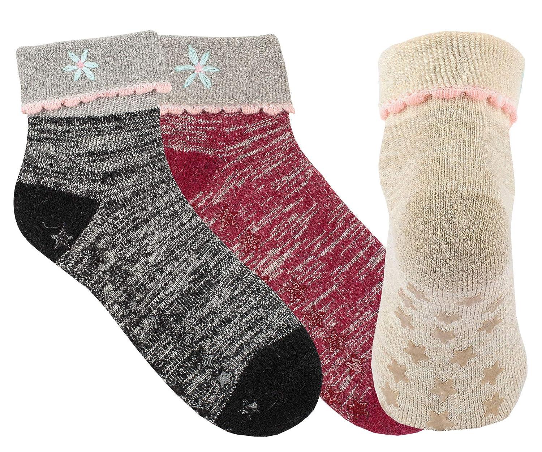 Vitasox Damen Socken Wolle Angora mit Umschlag /& ABS 2 Paar