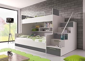 Etagenbett Kind Und Baby : Furnistad etagenbett heaven kinder stockbett option rechts