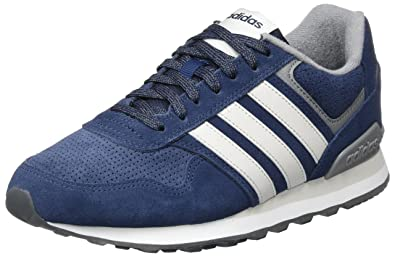 low priced 87214 cd59d adidas Men s 10k Gymnastics Shoes, Blue (Collegiate Navy Grey One F17 Grey
