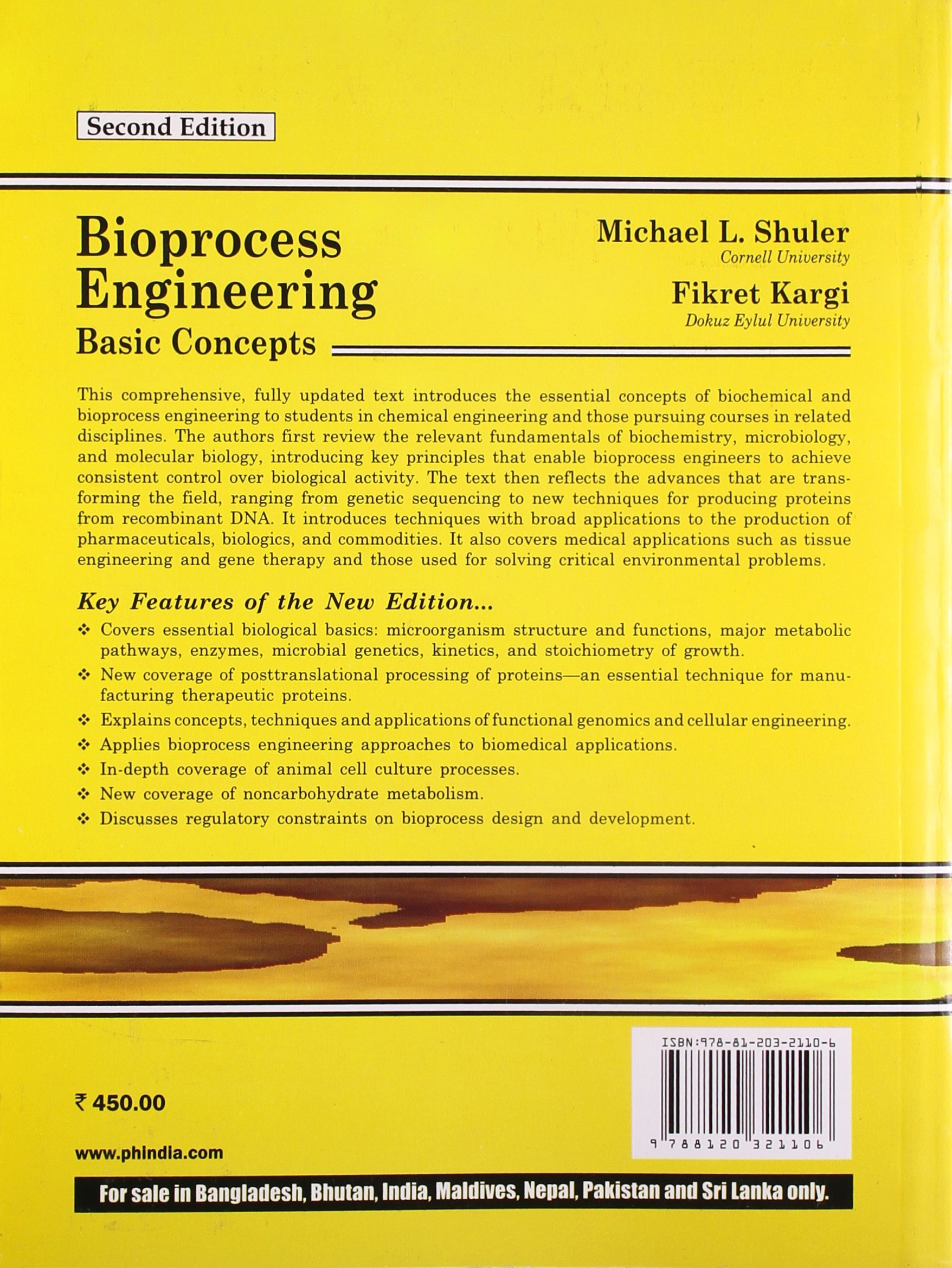 Bioprocess Engineering Basic Concepts Pdf