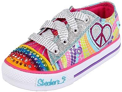 Skechers Kids Shuffles Heart Sparks Sneaker (Toddler/Little Kid/Big Kid),