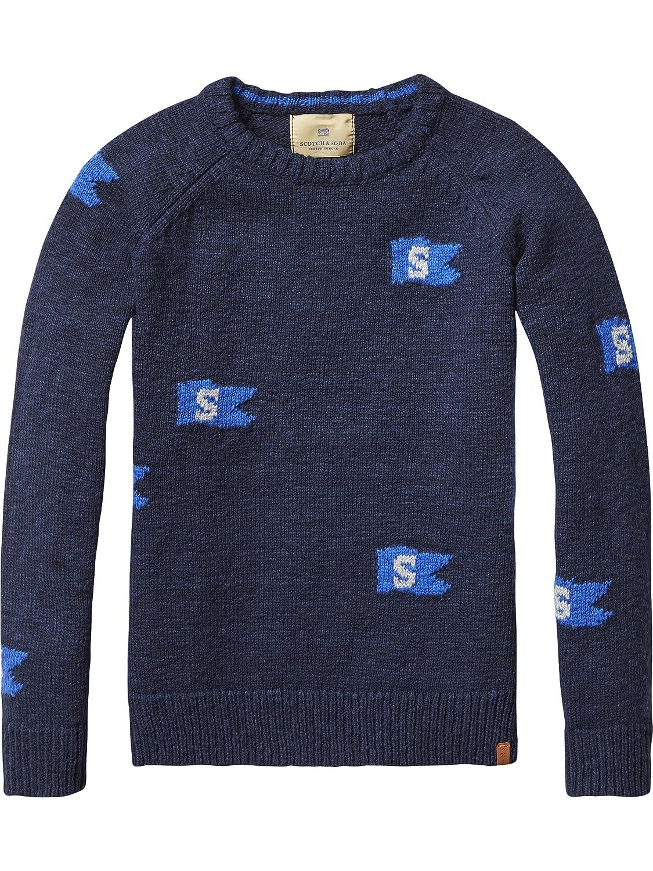 Scotch Shrunk Jungen Pullover Intarsia Pull in Different Dessins