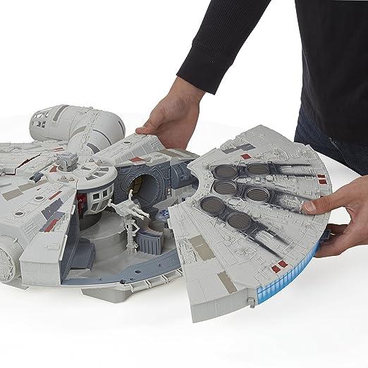 Star Wars Millenium Falcon Hasbro nerf Con 3 Personaggi