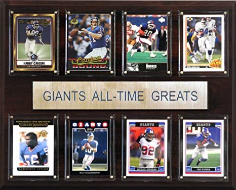 4d4511fca Amazon.com   NFL New York Giants All-Time Greats Plaque   Decorative ...