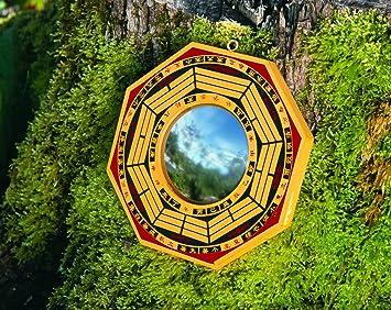 Spiegel Feng Shui feng shui ba gua spiegel konkav 15cm amazon de küche haushalt