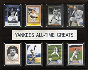 MLB New York Yankees All-Time Greats Plaque