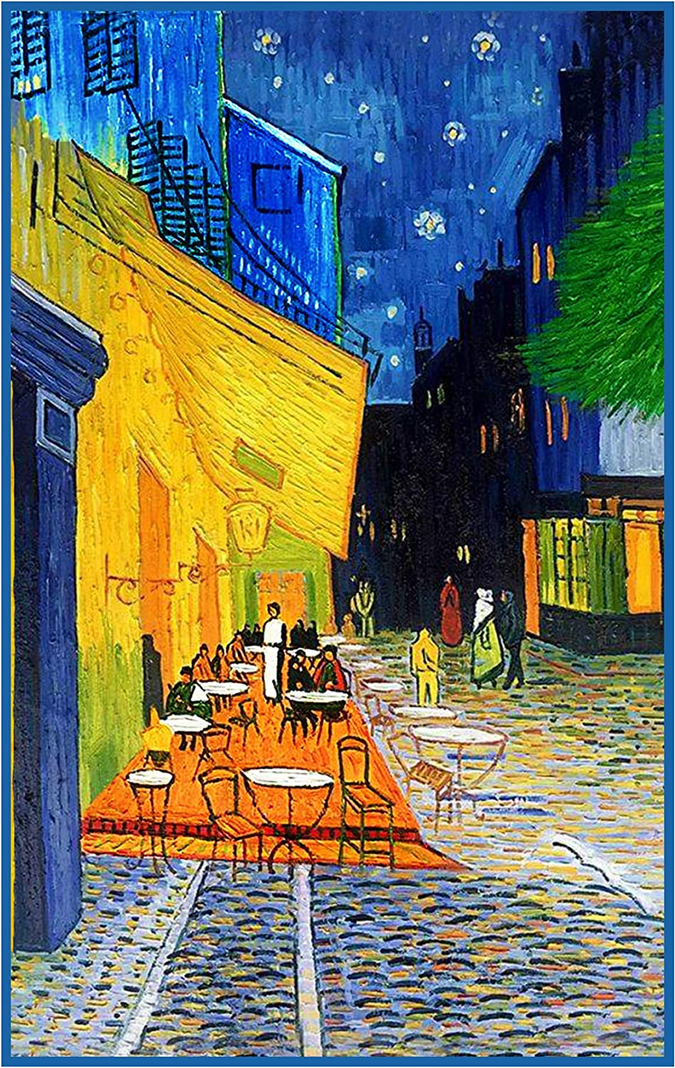Orenco Originals Starry Night Over The Rhone Vincent Van Gogh Counted Cross Stitch Pattern